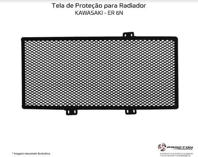 Protetor de Radiador Kawasaki ER6N Procton