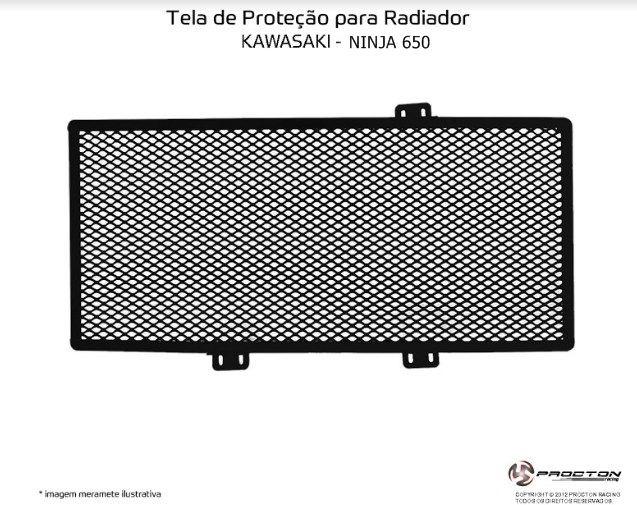 Protetor de Radiador Kawasaki Ninja 650 Procton