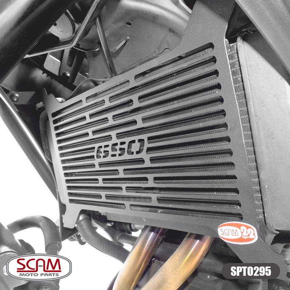 Protetor de Radiador Kawasaki Versys 650 2015 em Diante Scam