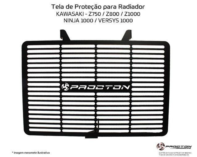 Protetor de Radiador Kawasaki Z1000 Procton