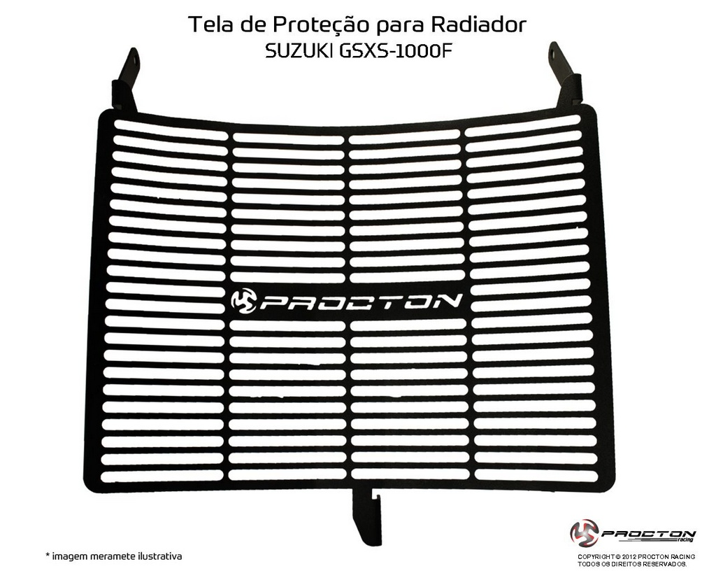 Protetor de Radiador Suzuki GSX S1000 Procton