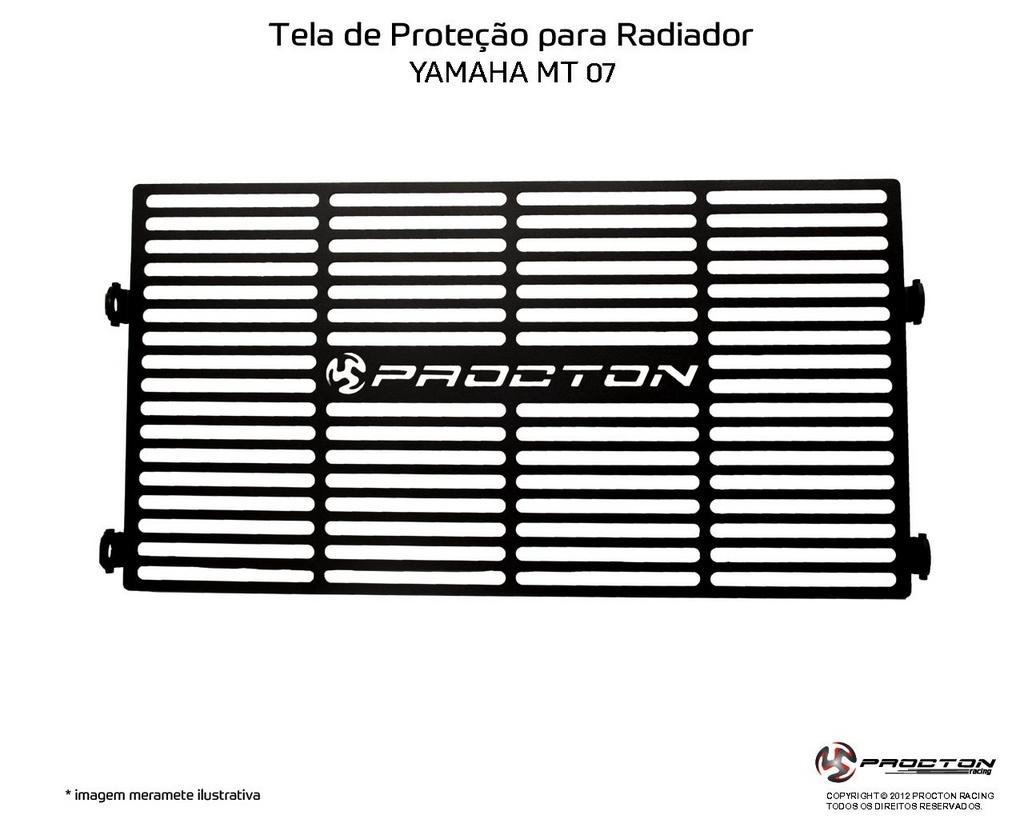 Protetor de Radiador Yamaha MT-07 2015/2019 Procton