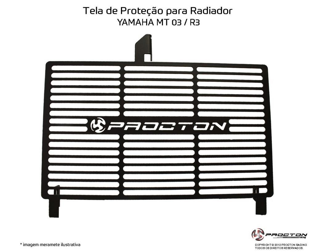 Protetor de Radiador Yamaha YZF R3 Procton