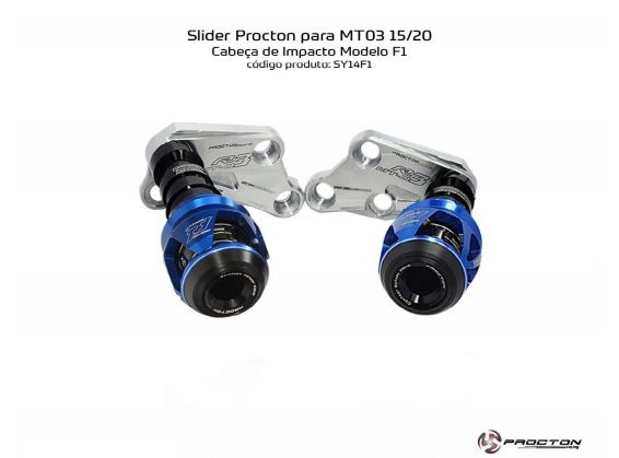 Slider MT-03 2015/2020 Yamaha Procton