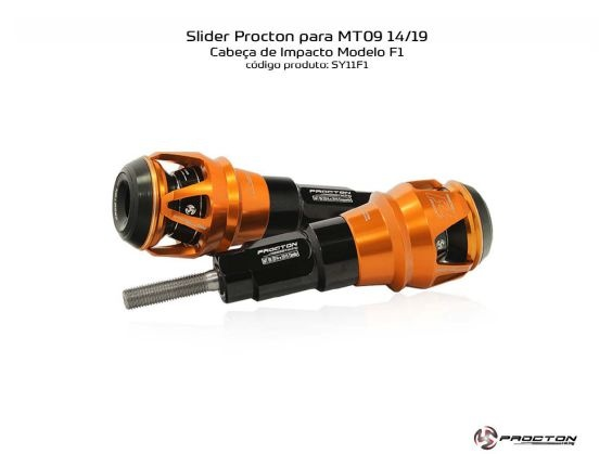 Slider MT-09 2014/2019 Yamaha Procton