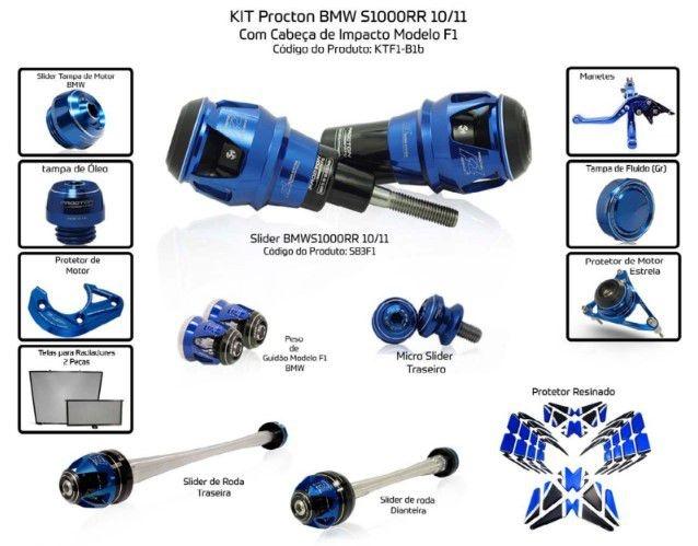 Slider S1000RR 2010/2011 Procton - 13 Pecas