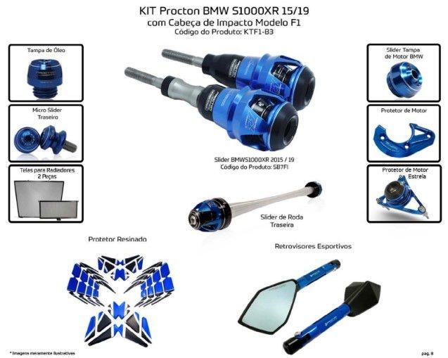 Slider S1000XR 2015/2019 Procton - 10 Pecas