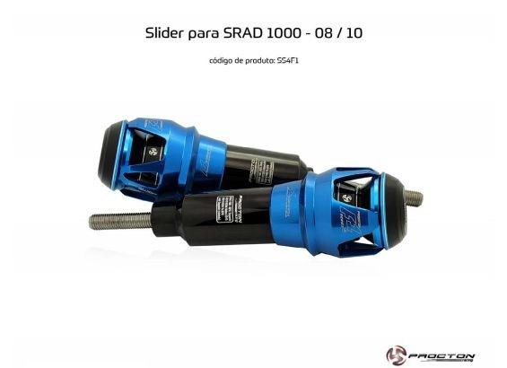 Slider SRAD GSXR 1000 2008/2010 Suzuki Procton
