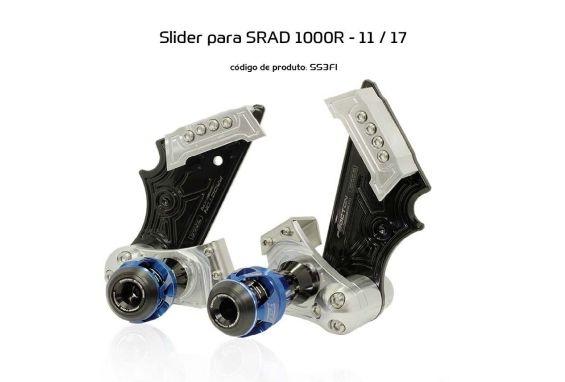 Slider SRAD GSXR 1000 2011/2017 Suzuki Procton