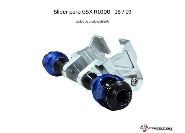Slider SRAD GSXR 1000 2018/2019 Suzuki Procton