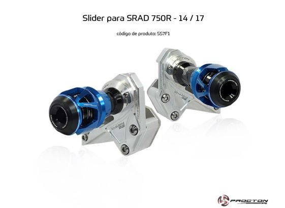 Slider SRAD GSXR 750 2014/2017 Suzuki Procton