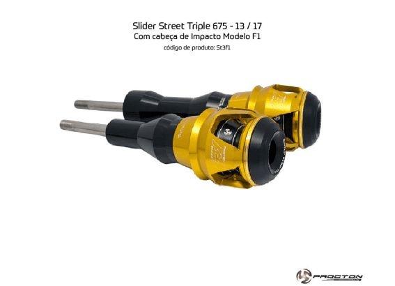 Slider Street Triple 675 2013/2017 Triumph Procton