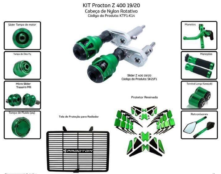 Slider Z400 2019/2020 Procton - 11 Pecas