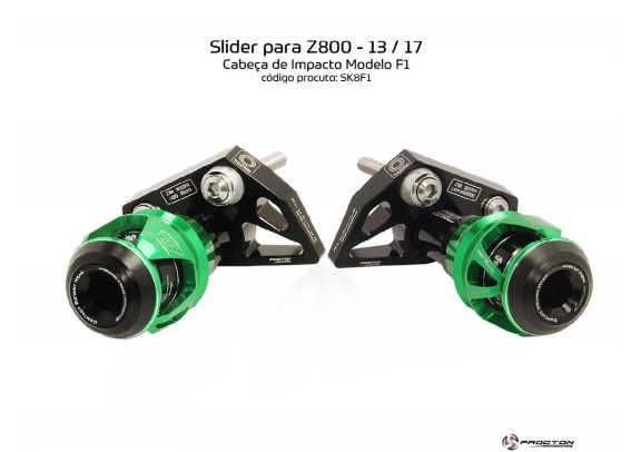 Slider Z800 2013/2017 Kawasaki Procton
