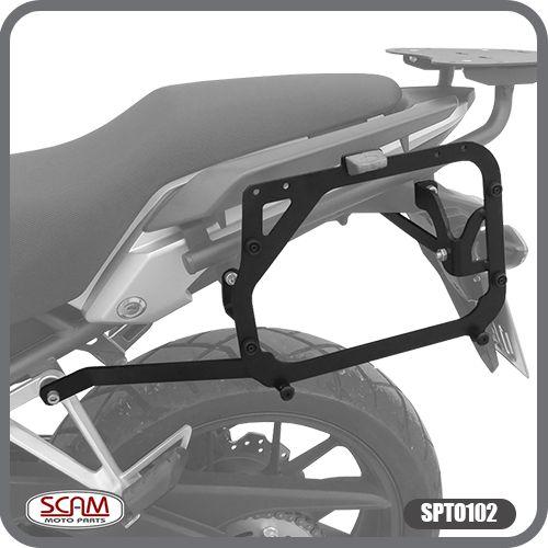Suporte de Baú Lateral Honda CB500X 2013 em Diante Scam