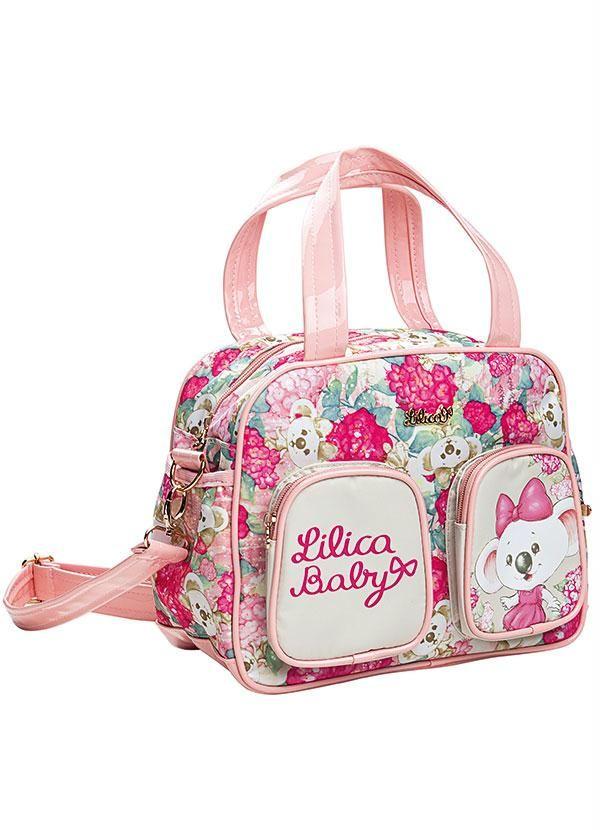 Lilica Ripilica - Bolsa Maternidade Rosa |  Mochila para criança