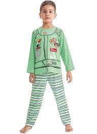 Pijama masculino estampado