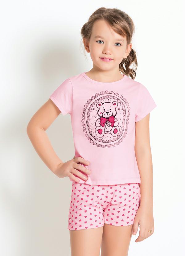 Pijamas Feminino Rosa calor/frio