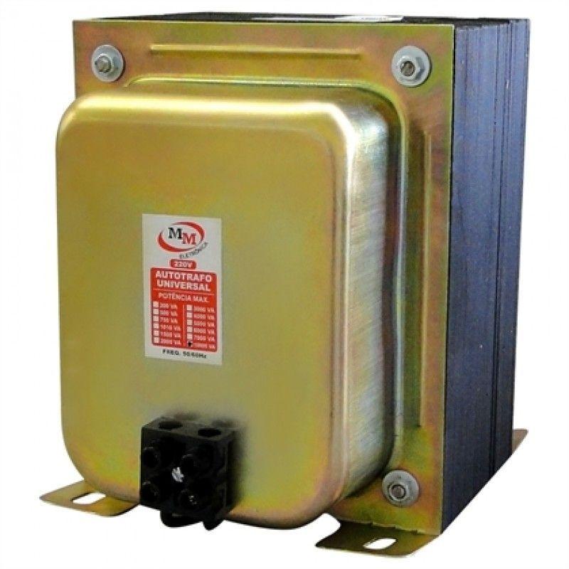 Autotransformador de Voltagem 7.000VA para Ar Condicionado 15.000 Btu's