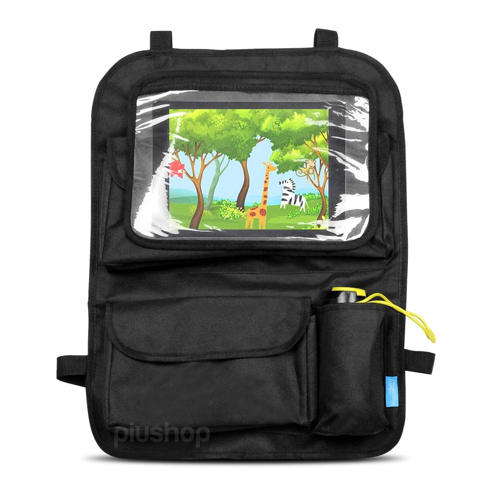 Suporte Bolsa Organizador Porta Objetos Para Carro Para Tablets Ipad Até 9,7
