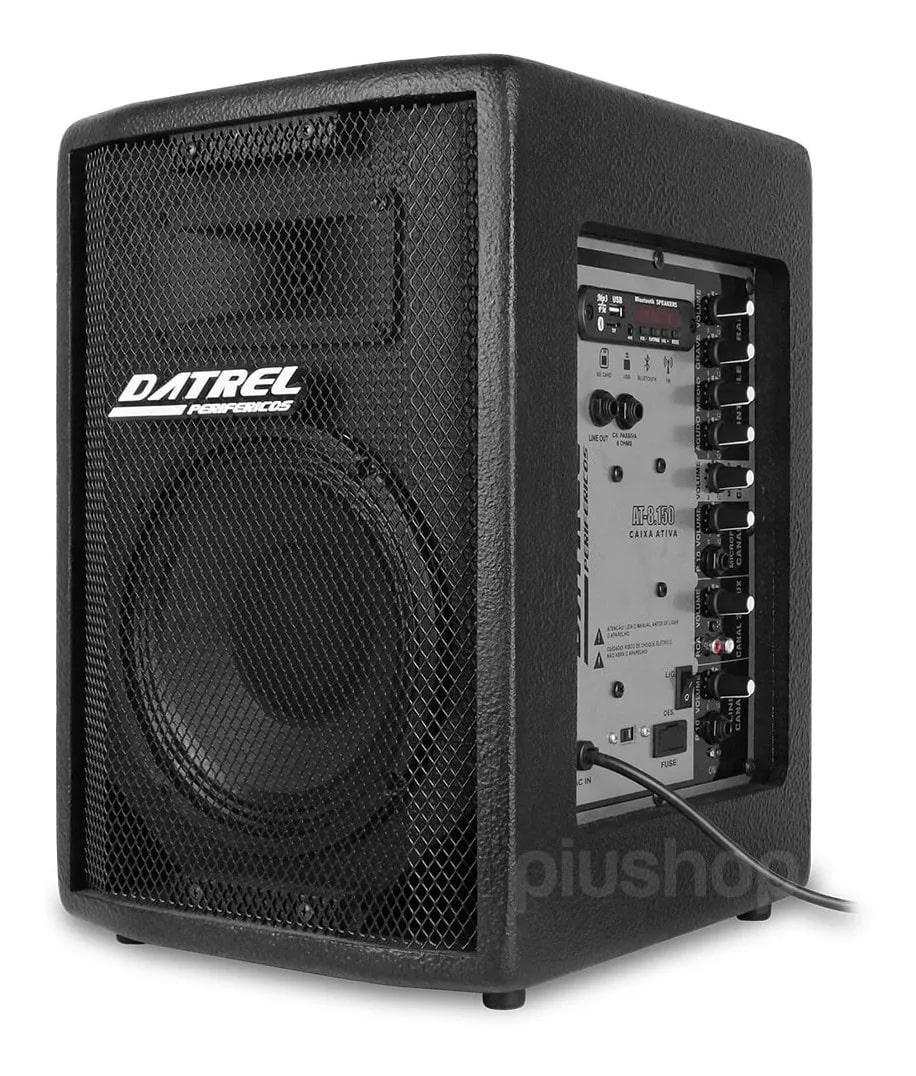 Caixa Ativa 150 Watts Bluetooth/Usb/Fm At 8 150 Blue - Datrel
