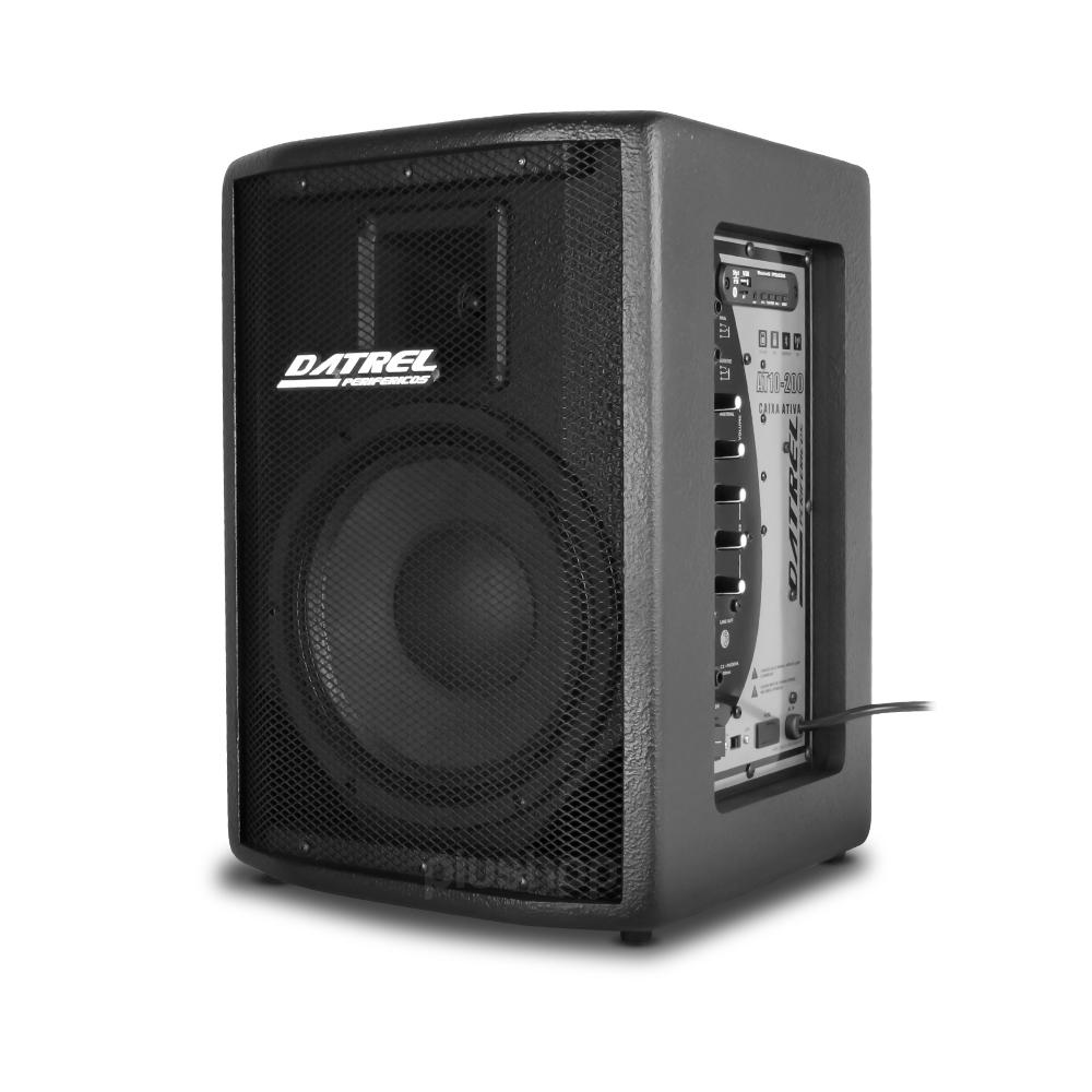 Caixa Ativa 200 Watts Bluetooth / Usb / Fm AT 10 200 POP Datrel