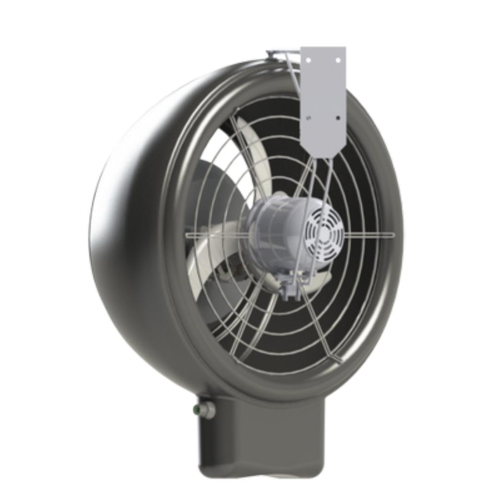 Climatizador Evaporativo Industrial de Parede Oscilante Master Flux - Aquaclima