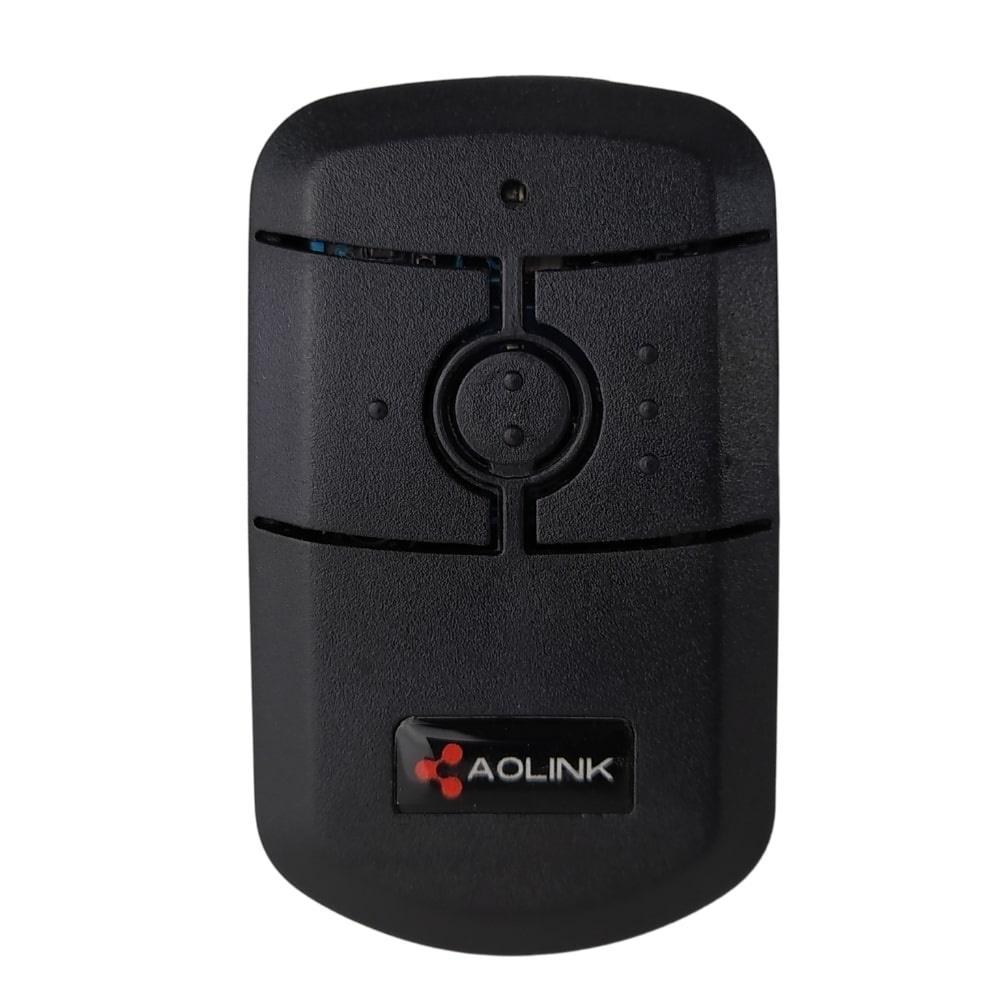 Controle de Portão Eletrônico 433,92 Tactus Preto - Aolink