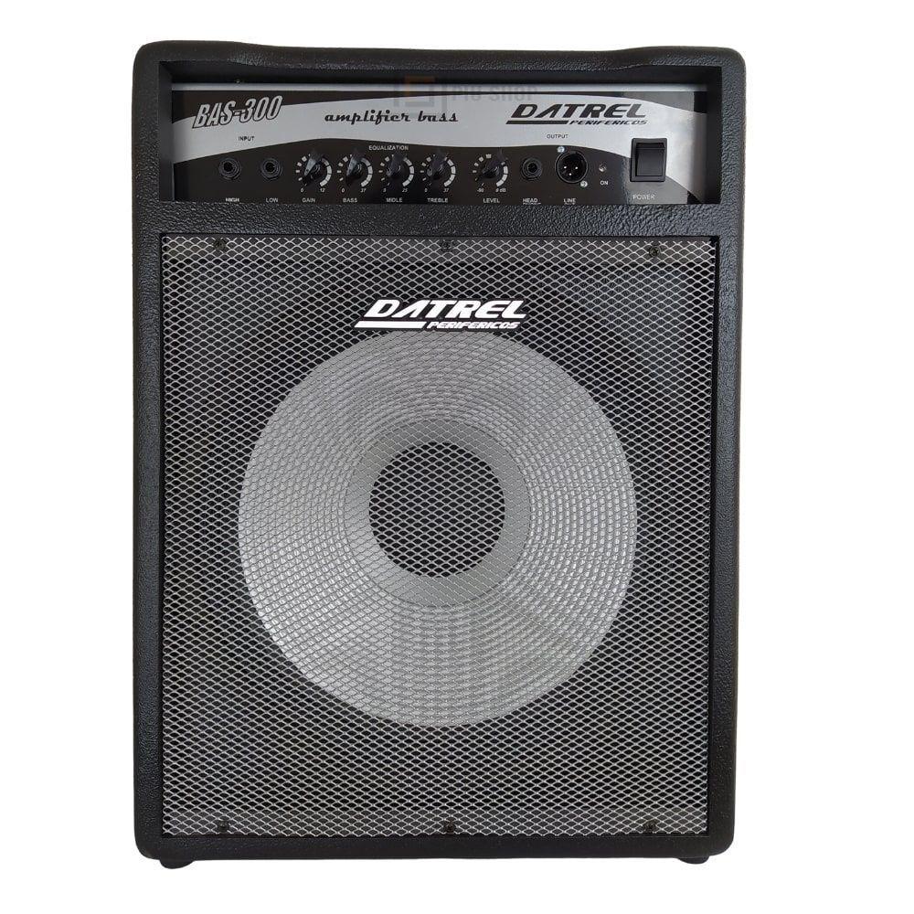 Cubo Amplificador Para Baixo 300w Bass 300 - Datrel