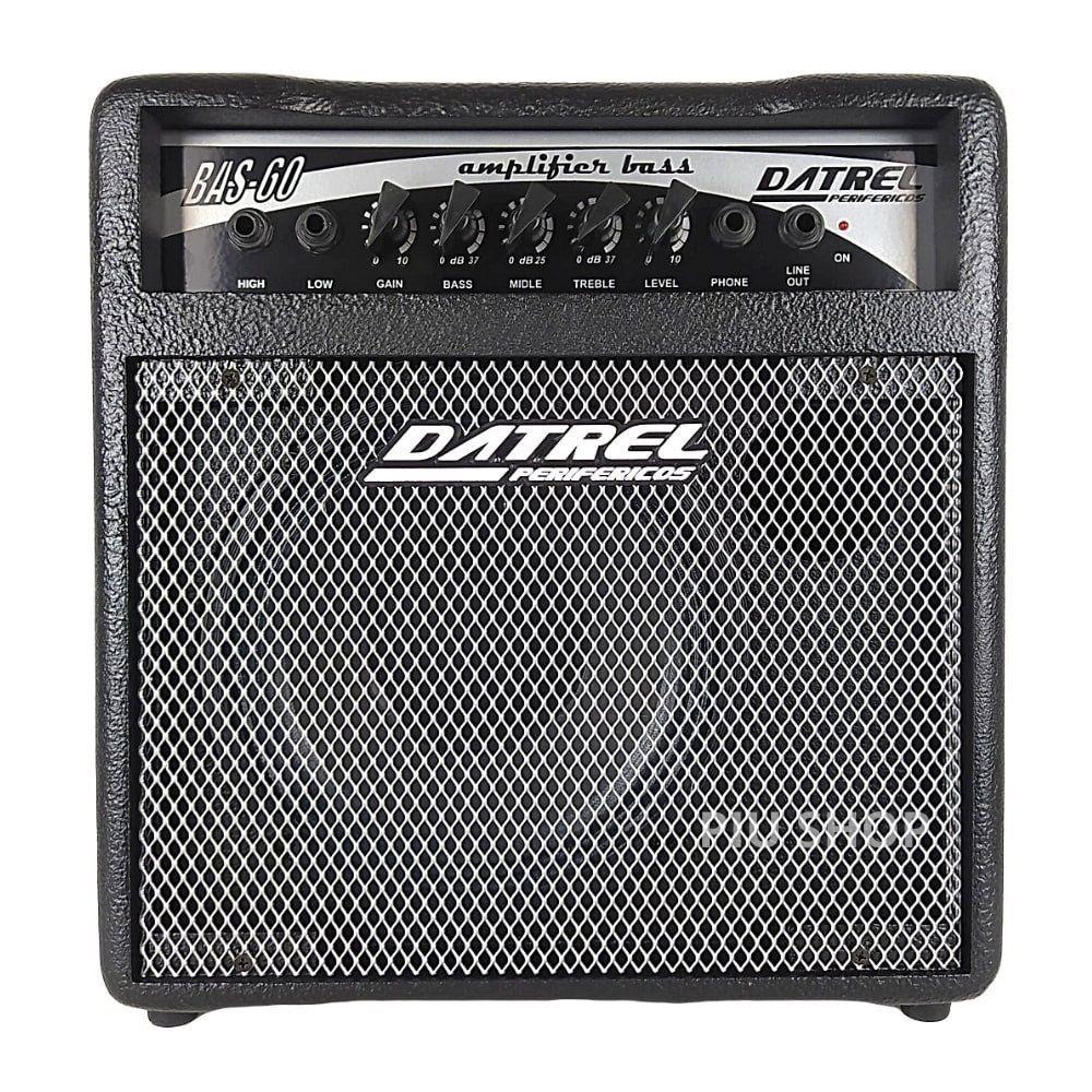 Cubo Amplificador Para Baixo 60w  Falante 8