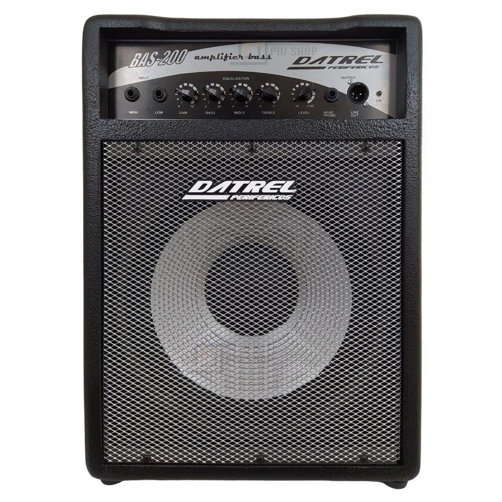 Cubo Amplificador para Baixo 200w Falante 12