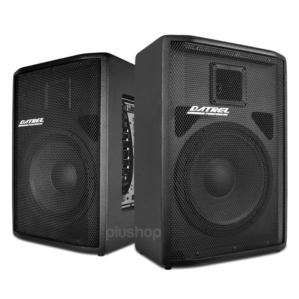 Kit Caixa de Som Ativa Usb + Passiva 500w Rms Bluetooth Sd Usb Fm - Datrel