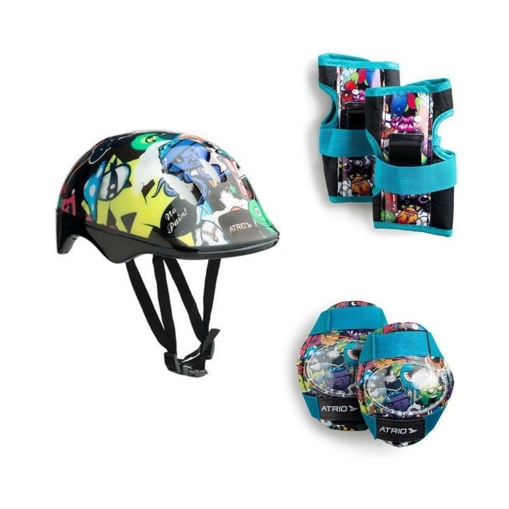 Kit De Proteção Infantil Para Esportes Monster ES200 - Átrio