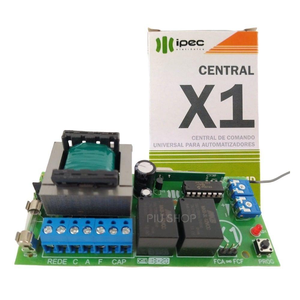 Placa de Motor de Portão Eletrônico Universal X1 Ligth - Ipec