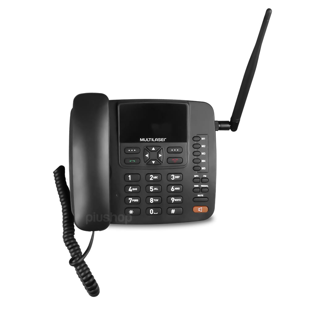 Telefone 4G Wi-FI Celular Rural Fixo de Mesa - RE505 - Multilaser