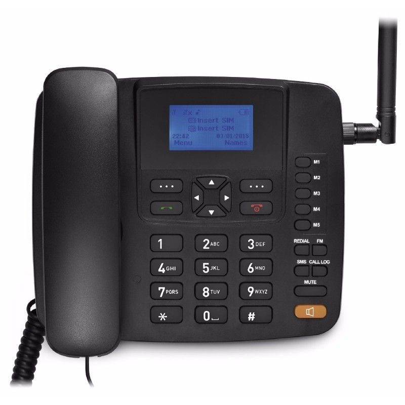 Telefone Rural 4 Band E Dual Chip Re502 - Multilaser