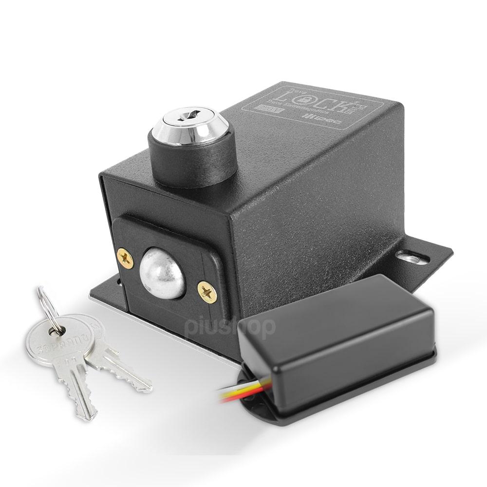 Trava Eletromagnética para Portão com Temporizador Lock Plus - IPEC