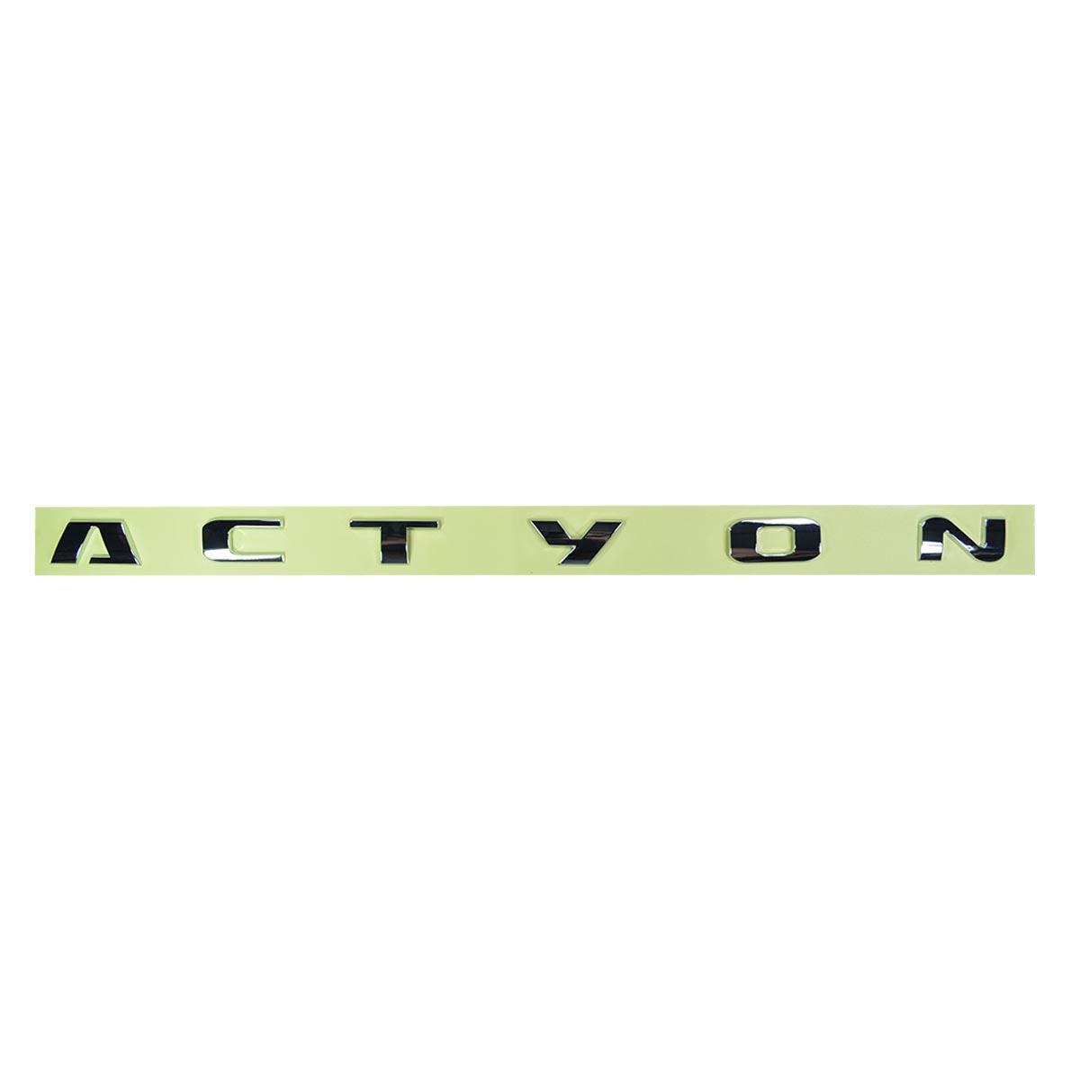 EMBLEMA | ACTYON | TAMPA TRASEIRA SSANGYONG ACTYON SUV 2.0 2.3 APÓS 2008