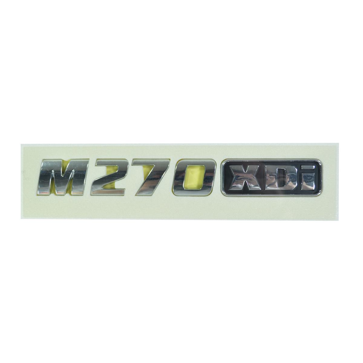 Emblema Porta Dianteira M270XDI Ssangyong Kyron 2.7 após 2008 Original