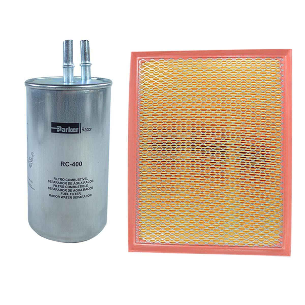 Kit Filtro de Ar Combustível Ssangyong Kyron 2.0 2.7 após 2008