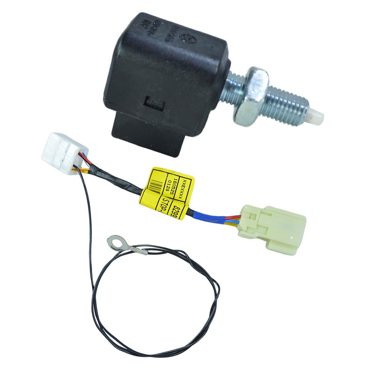 Kit Sensor Pedal Freio + Cabo Adaptador Ssangyong Actyon SUV 2.0 2.3 após 2008