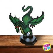 Action Figure Pixel Tibia - Dragon