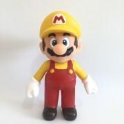 Boneco Action Figure Super Mario - Mario Amarelo