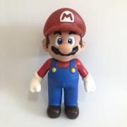 Boneco Action Figure Super Mario - Mario Vermelho