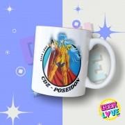 Caneca Geek Love Cavaleiros do Zodiaco - Poseidon