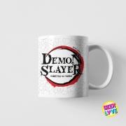 Caneca Geek Love Demon Slayer (Modelo 1)