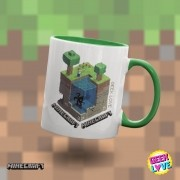 Caneca Geek Love Minecraft