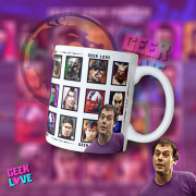 Caneca Geek Love Mortal Kombat