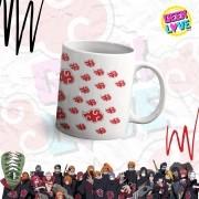 Caneca Geek Love Naruto - Akatsuki Simbolo