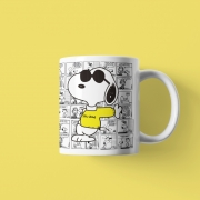 Caneca Geek Love Snoopy